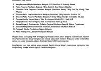 Laporan Ucapan Penghargaan Institut Kanser Negara 2012 - 2016 (MNCRR)